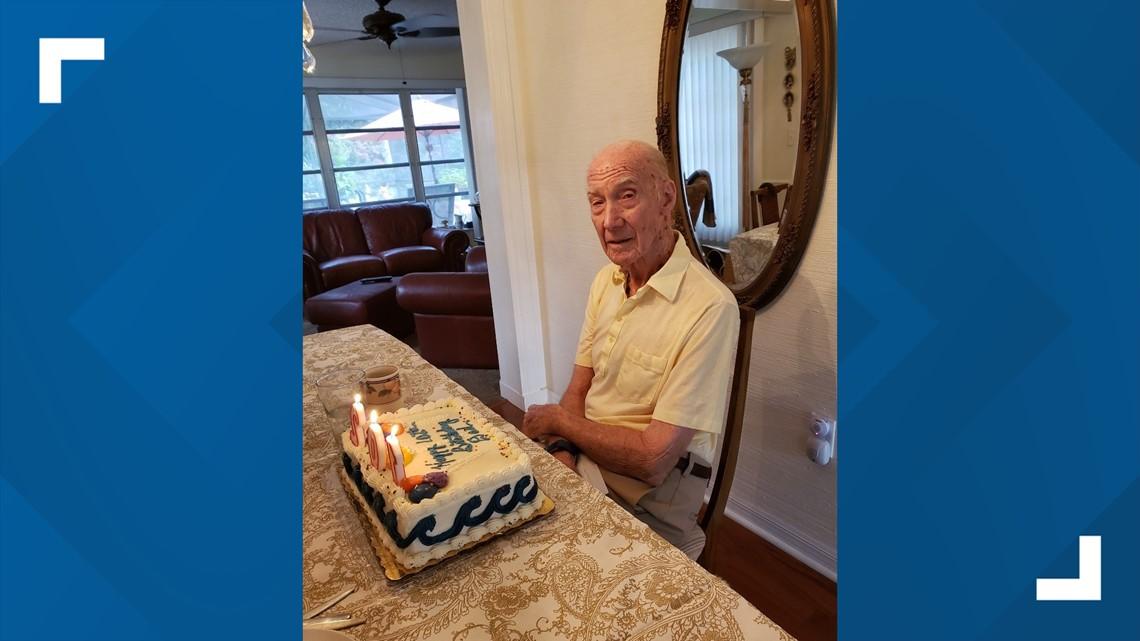 WWII Veteran celebrates 103rd birthday during pandemic