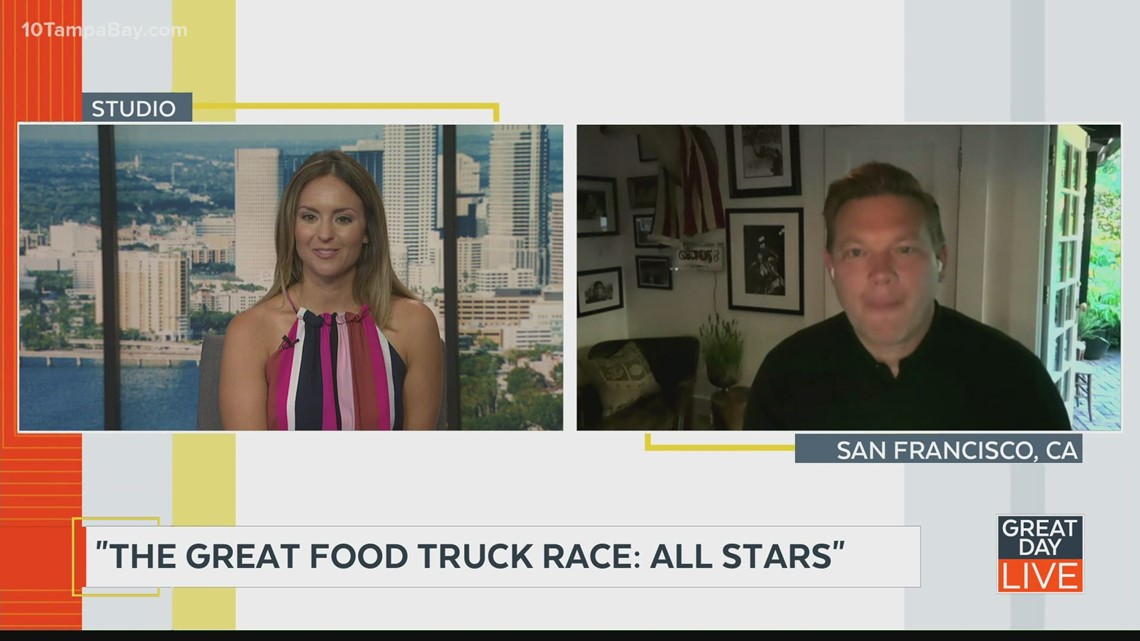 """Host Tyler Florence talks """"The Great Food Truck Race: All Stars"""""""