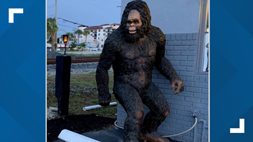 Florida police: Someone stole 8-foot, 300-pound Bigfoot statue from mattress store