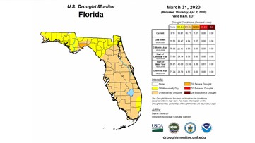 It's official, Tampa Bay is in a drought