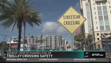 Streetcar crossing safety