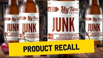 Brewery recalls beer because it says bottles could explode