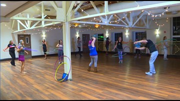 Hula hooping is making a comeback in Tampa Bay fitness classes
