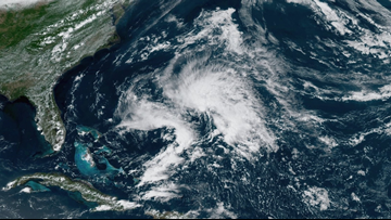 Subtropical Storm Andrea forms in the Atlantic