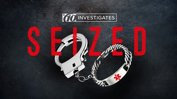 'Dad, next time, they might just shoot you.' 10Investigates uncovers pattern of epileptics arrested during seizures