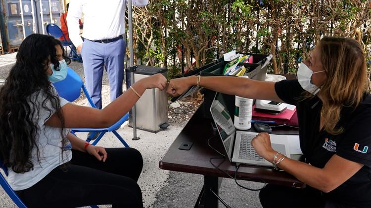 Florida reports 2,811 new coronavirus cases, 45 new deaths