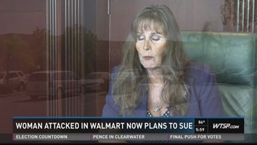 Woman sues Walmart after being cleared of shoplifting | wtsp com