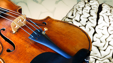 This violinist played her instrument as surgeons removed a brain tumor