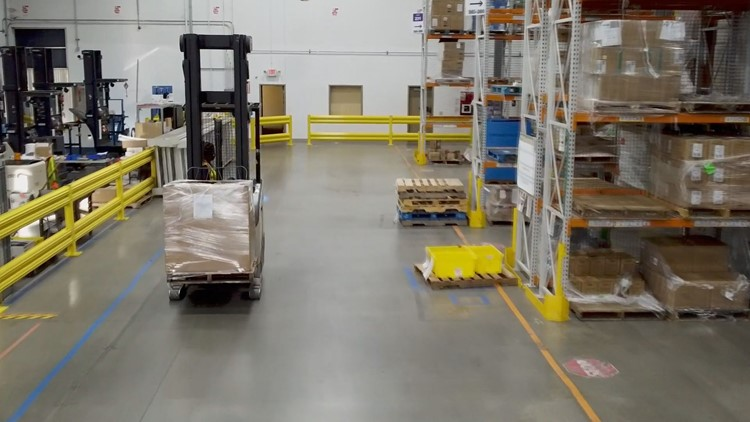 New Amazon disaster relief hub will get supplies out quickly