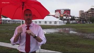 Rain won't stop Gasparilla Bowl
