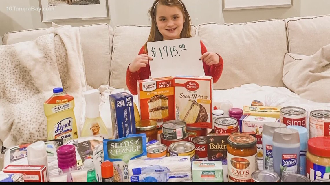 Child's birthday wish ends in huge donations for homeless outreach