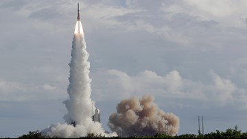 Last of its kind Delta IV rocket launches from Cape Canaveral
