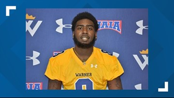 Warner University football player dies after drill