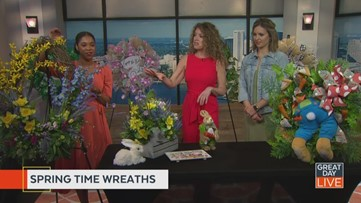 Hop into spring with a new wreath