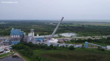 FPL implodes its last standing coal-powered plant in Florida
