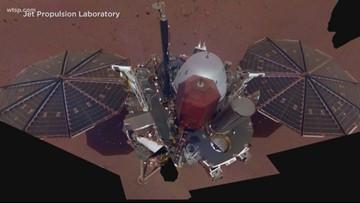 Martian dust devil swept over NASA spacecraft