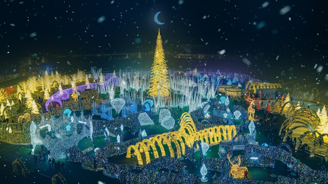 'World's largest' Christmas light display coming to Tropicana Field