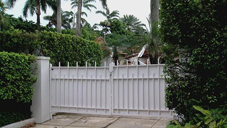 Demolition of Jeffrey Epstein former Florida mansion