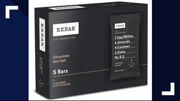 15 RXBAR varieties recalled after buyers report allergic
