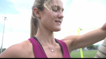 10News story inspires screenplay about collegiate pole vaulter