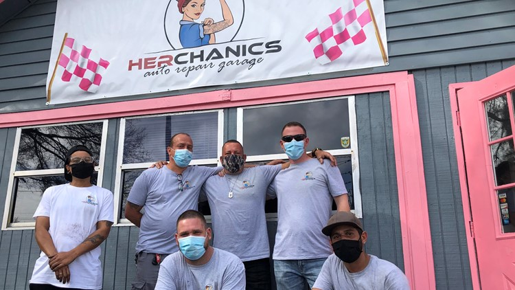 'Herchanics' aims to restore cars and people