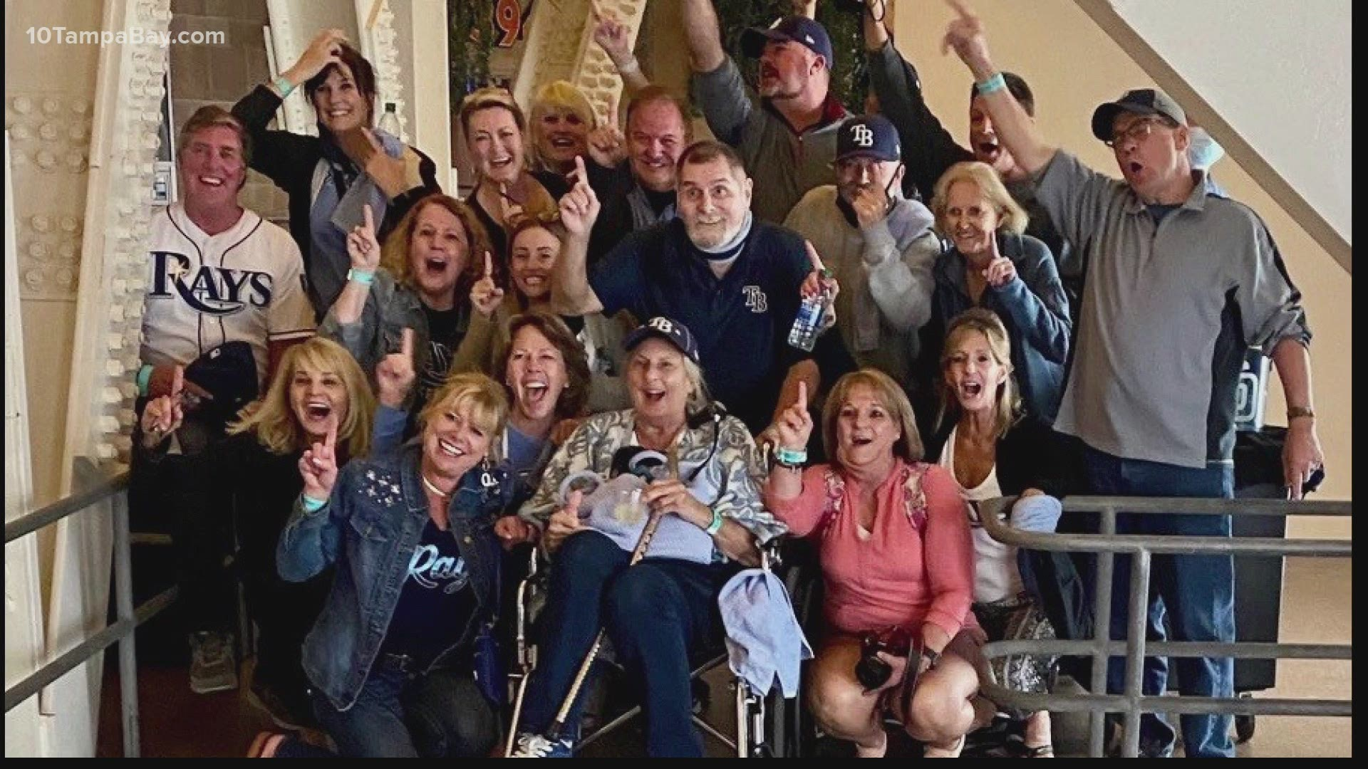 how parents of the rays celebrate their sons from a distance wtsp com rays parents travel to mlb bubble to watch kids play in the world series