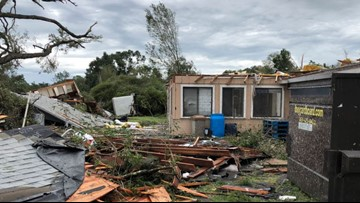 'It's like a war zone': Pastor describes devastation after Polk County storms