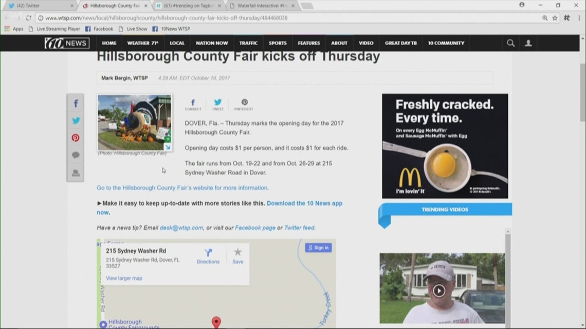 Hillsborough County Fair starts Thursday