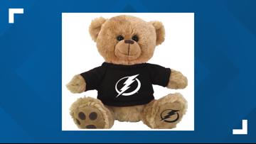 Cheer on the Bolts, help a child: Buddy Bear giveaway at Amalie Arena