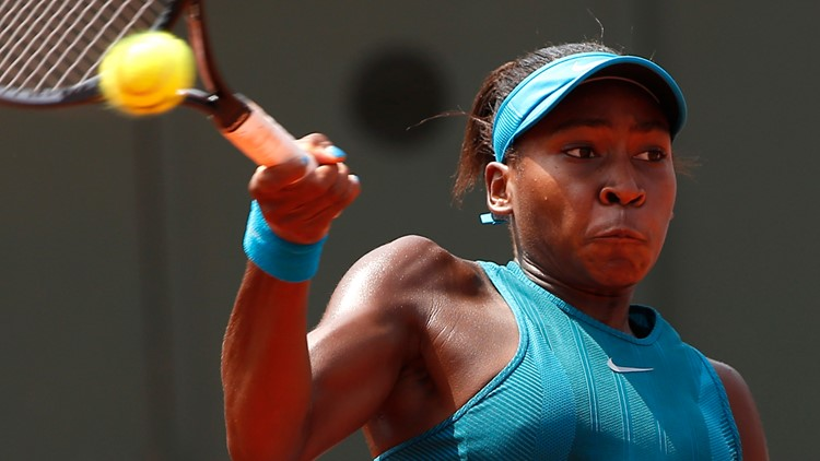 Florida's Cori Gauff is now the youngest tennis player to win a French Open qualifier
