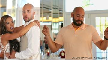 Accused St. Pete Beach wedding crasher caught on camera