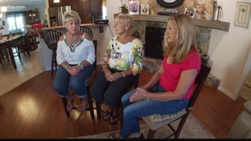 DNA test brings long lost sisters together