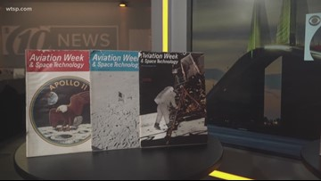 10News viewer shares 50-year-old newspapers, magazines from Apollo 11 moon landing
