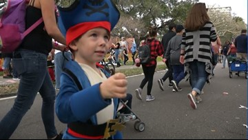 Gasparilla kicks off with Children's Parade on Saturday -- here's what you need to know
