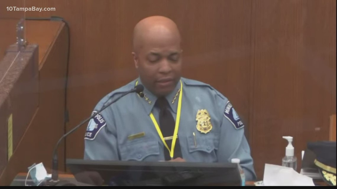 Day 6 of Chauvin trial shows something rare: police chief testifying against police