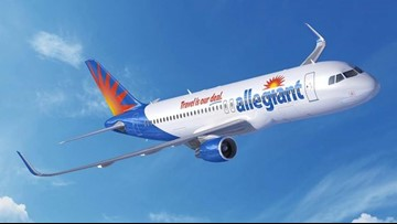 Allegiant Air announces 9 new nonstop routes to Sarasota