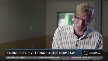 Fairness for Veterans Act is now law