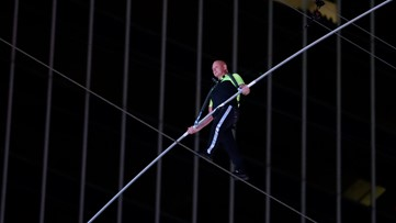 Walking over an active volcano: How Nik Wallenda is preparing