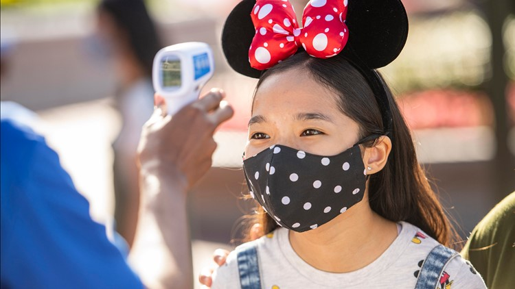 Walt Disney Company requiring all salaried, non-union hourly employees to be fully vaccinated
