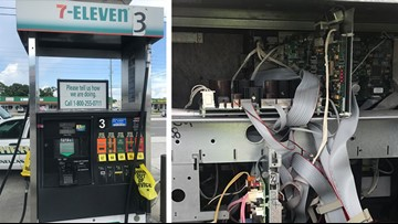 Bluetooth skimmer found on Seminole gas pump
