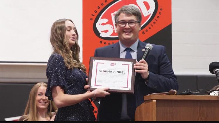 Rising Pasco County high school senior named National Student President of SADD