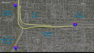 FDOT picks new 'Malfunction Junction' plan with more lanes, but less land needed