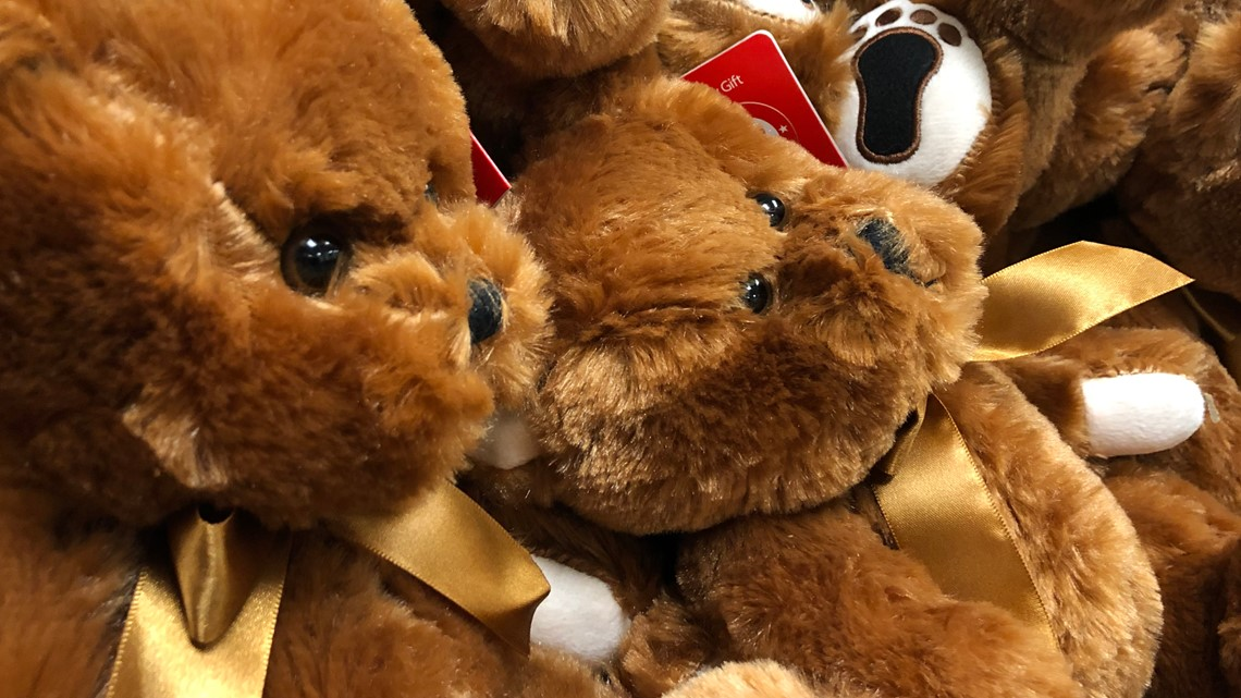 Teddy bear donation provides deputies with toys for distressed children