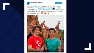 Disney World launches joke 'snack ears' for April Fools Day