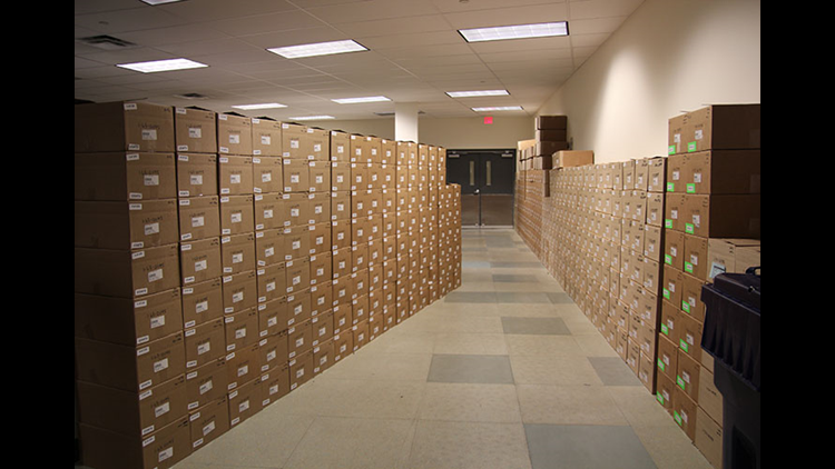 The ATF's National Tracing Center.