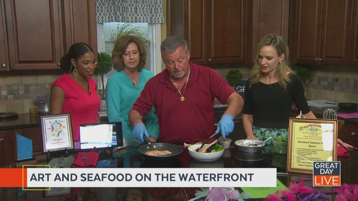 Art and Seafood on the Waterfront