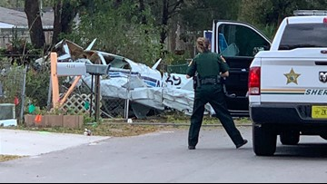 Couple killed when small plane crashes into front yard in Polk County