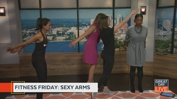 Fitness Friday: sexy arms
