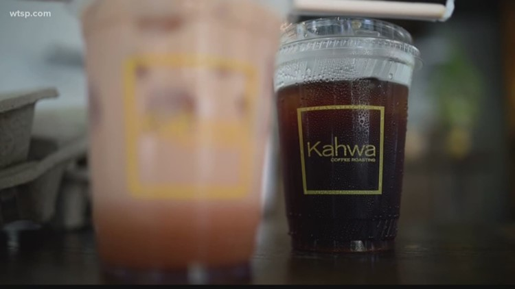 Local coffee shop giving free beverages to first responders