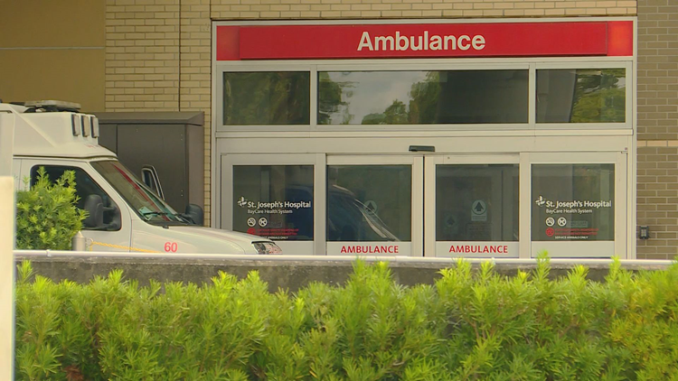 Ambulances wait up to 8 hours to offload patients as ERs fill up